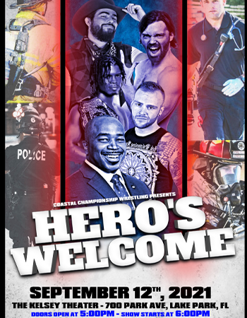 Tickets   CCW Presents: Hero's Welcome @ Lake Park Black Box   Black Box  Productions